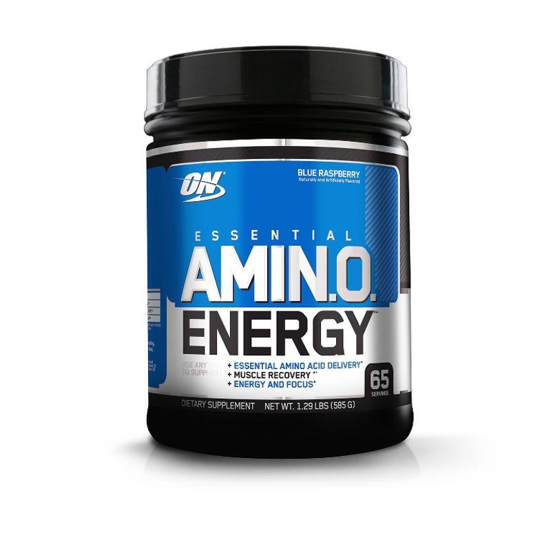 Optimum Nutrition (ON) Amino Energy Powder - 65 Servings (Blue Raspberry)