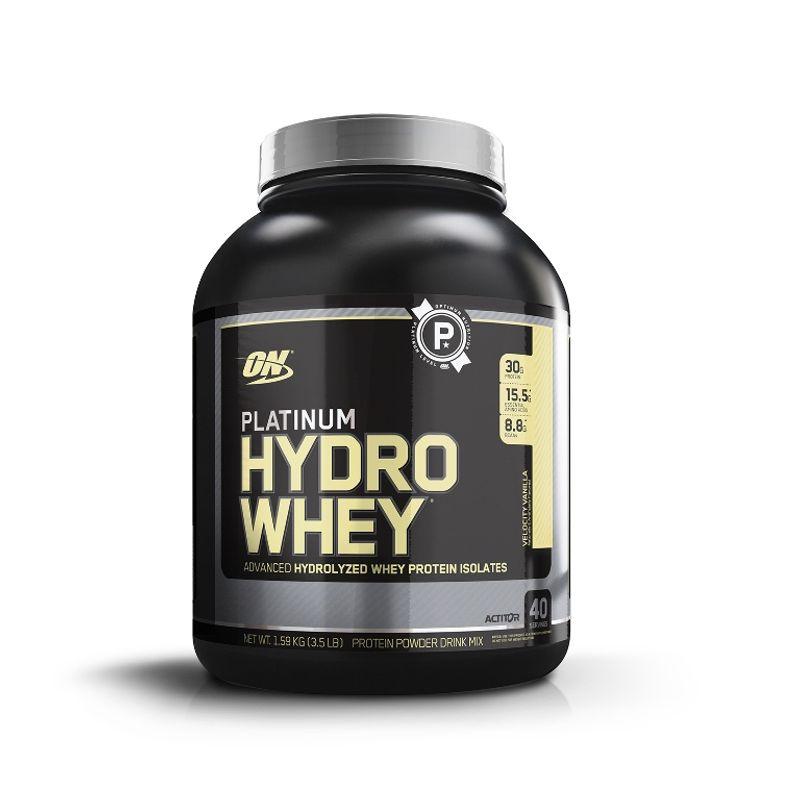 Optimum Nutrition (ON) Platinum Hydro Whey Protein Powder (Velocity Vanilla)