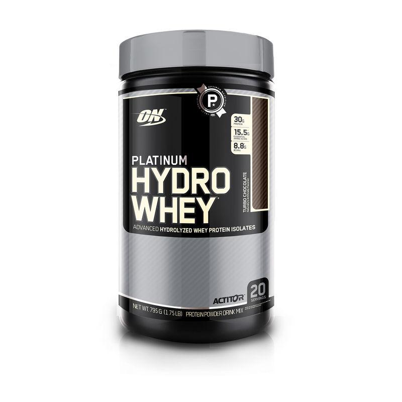 Optimum Nutrition (ON) Platinum Hydro Whey - 1.75 Lbs (Turbo Chocolate)