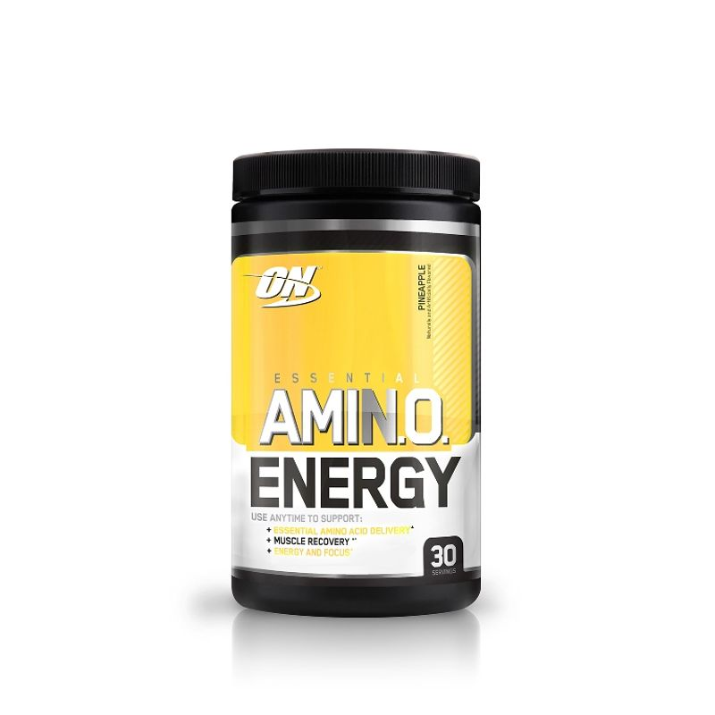 Optimum Nutrition (ON) Amino Energy Powder - 30 Servings (Pineapple)