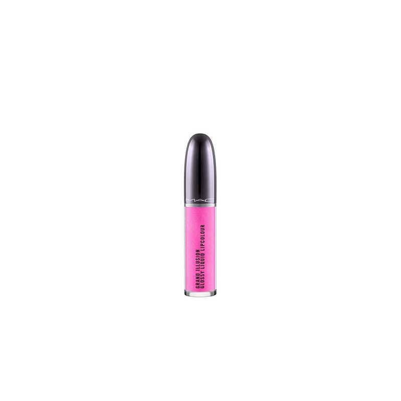 M.A.C Grand Illusion Glossy Liquid Lip Colour - Sugar Poppy