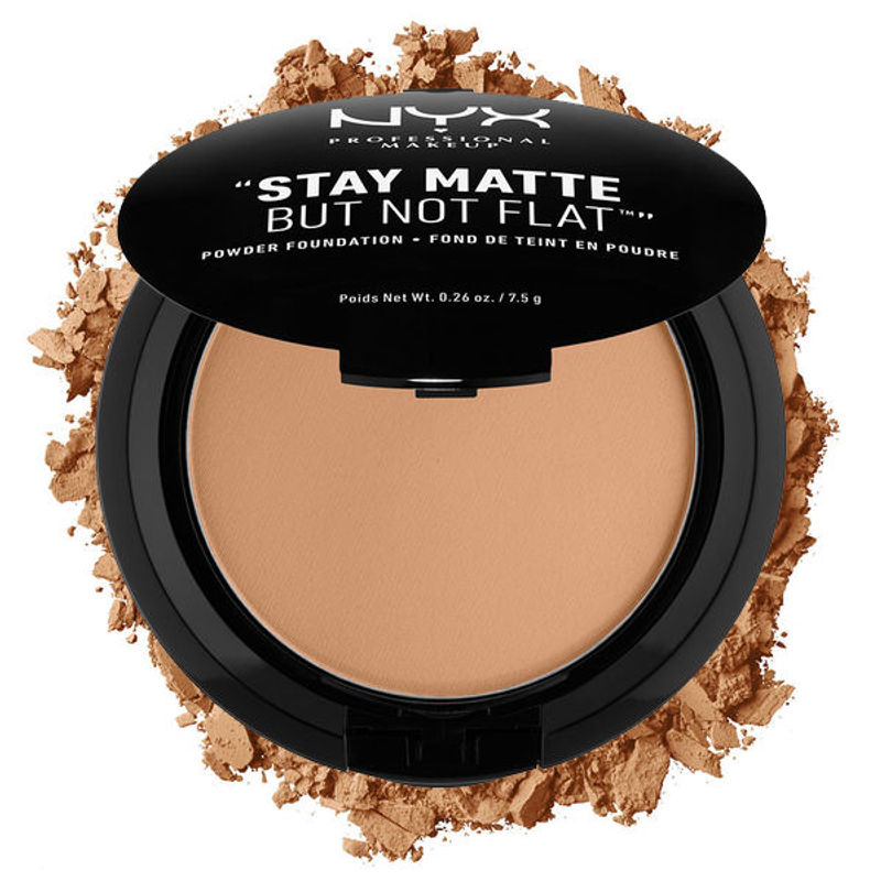 NYX Professional Makeup Stay Matte But Not Flat Powder Foundation - Beige