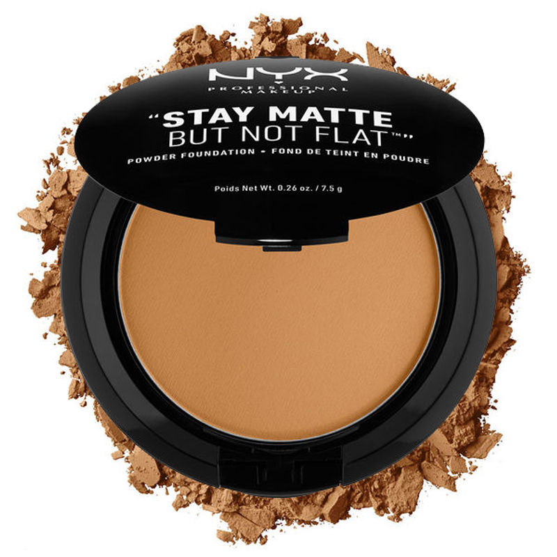 NYX Professional Makeup Stay Matte But Not Flat Powder Foundation - Deep Golden