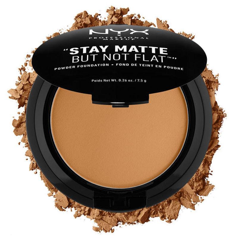NYX Professional Makeup Stay Matte But Not Flat Powder Foundation - Deep Golden