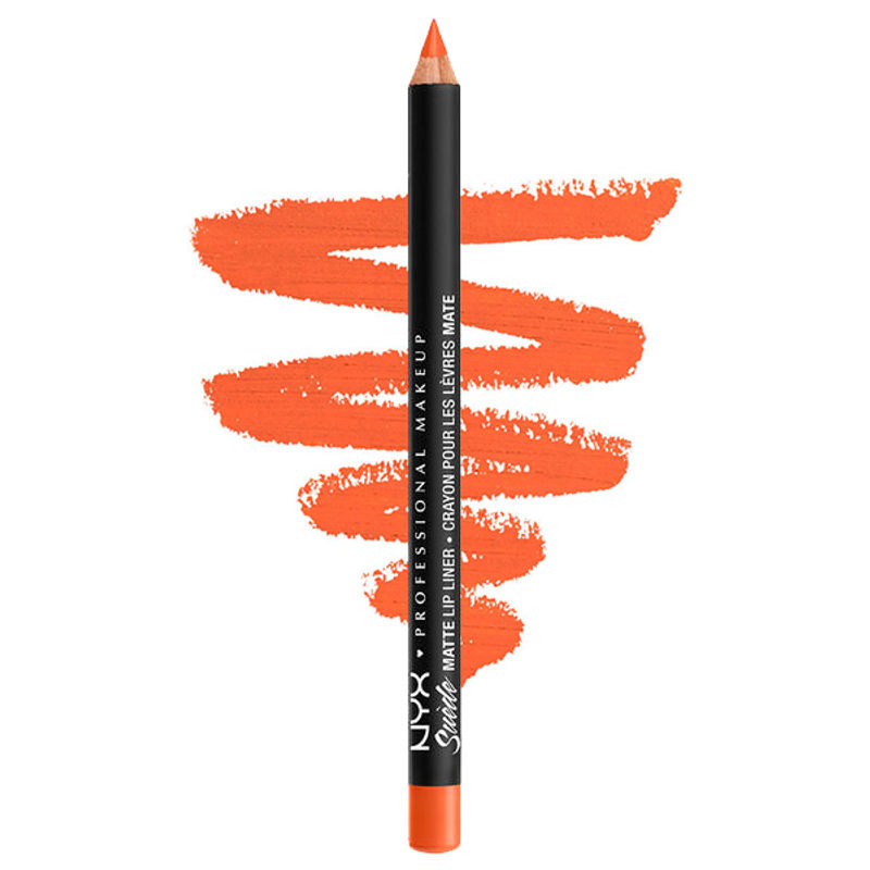 NYX Professional Makeup Suede Matte Lip Liner - Orange County