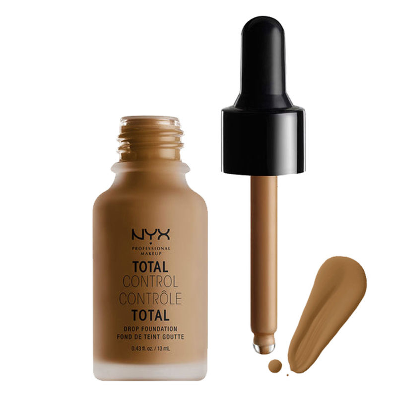 NYX Professional Makeup Total Control Drop Foundation - 18 Deep Sable