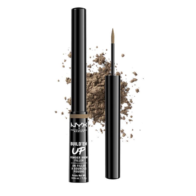 NYX Professional Makeup Build 'Em Up Brow Powder - Taupe