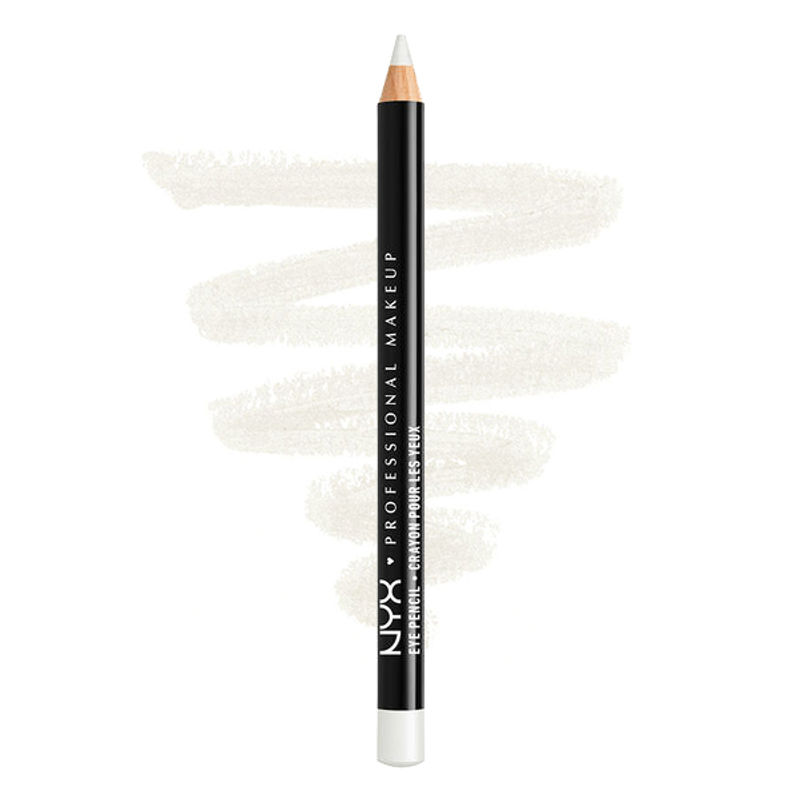 NYX Professional Makeup Slim Eye Pencil - White Pearl