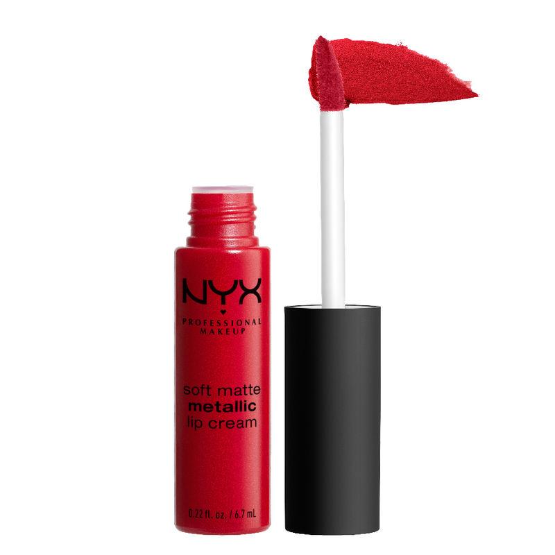 NYX Professional Makeup Soft Matte Metallic Lip Cream - Monte Carlo