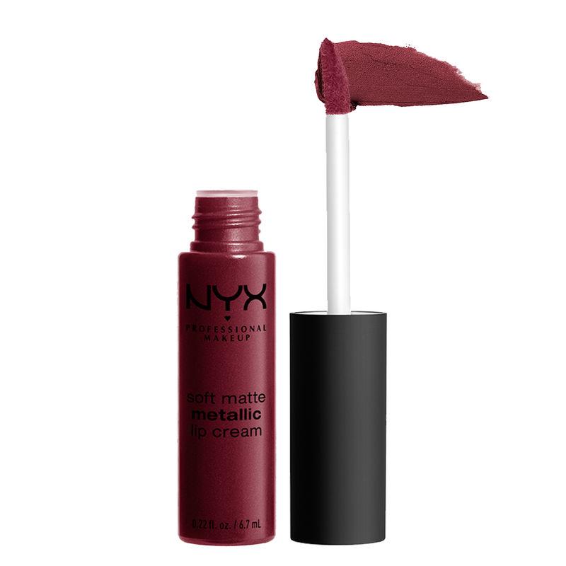 NYX Professional Makeup Soft Matte Metallic Lip Cream - Copenhagen