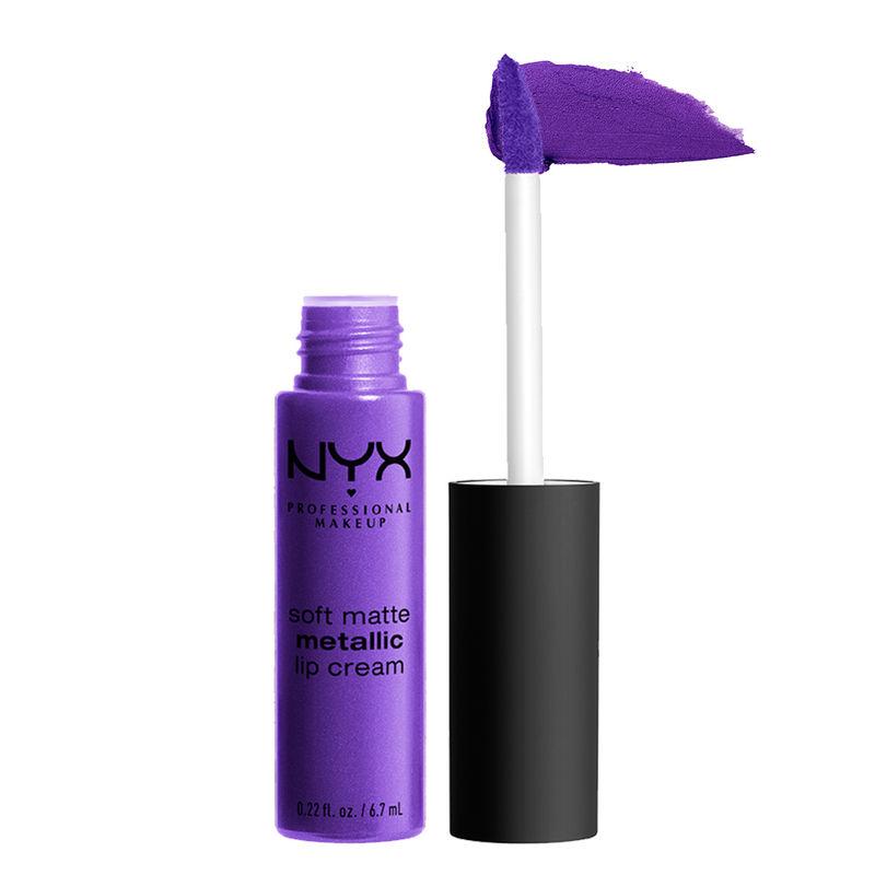 NYX Professional Makeup Soft Matte Metallic Lip Cream - Havana