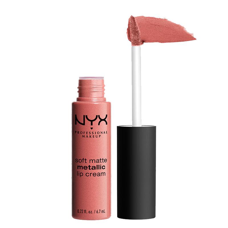 NYX Professional Makeup Soft Matte Metallic Lip Cream - Cannes