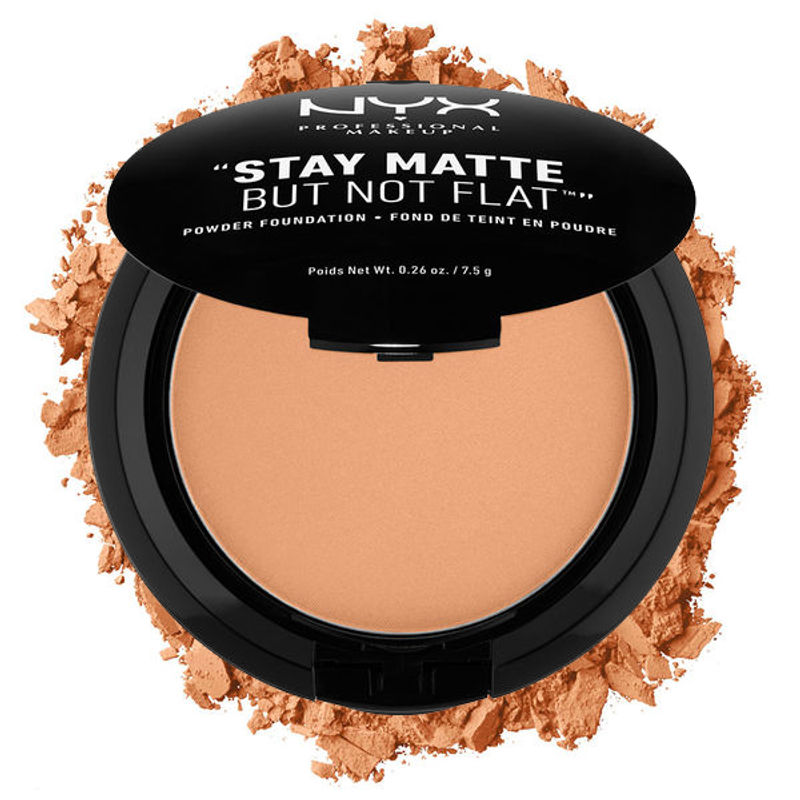 NYX Professional Makeup Stay Matte But Not Flat Powder Foundation - 12 Tawny