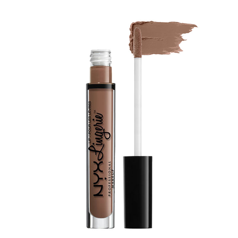 NYX Professional Makeup Lip Lingerie Liquid Lipstick - Honeymoon