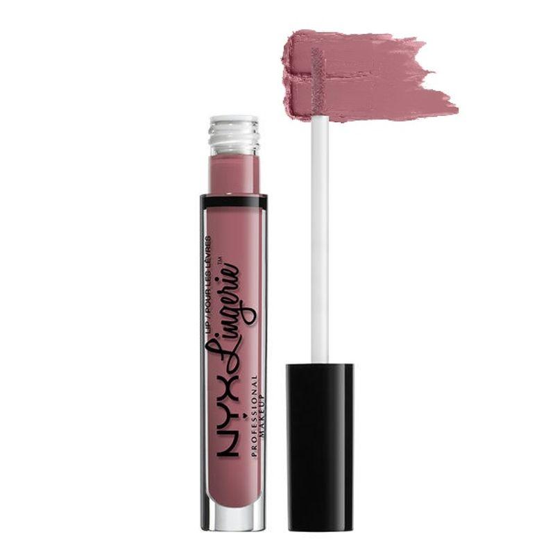 NYX Professional Makeup Lip Lingerie Liquid Lipstick - Embellishment