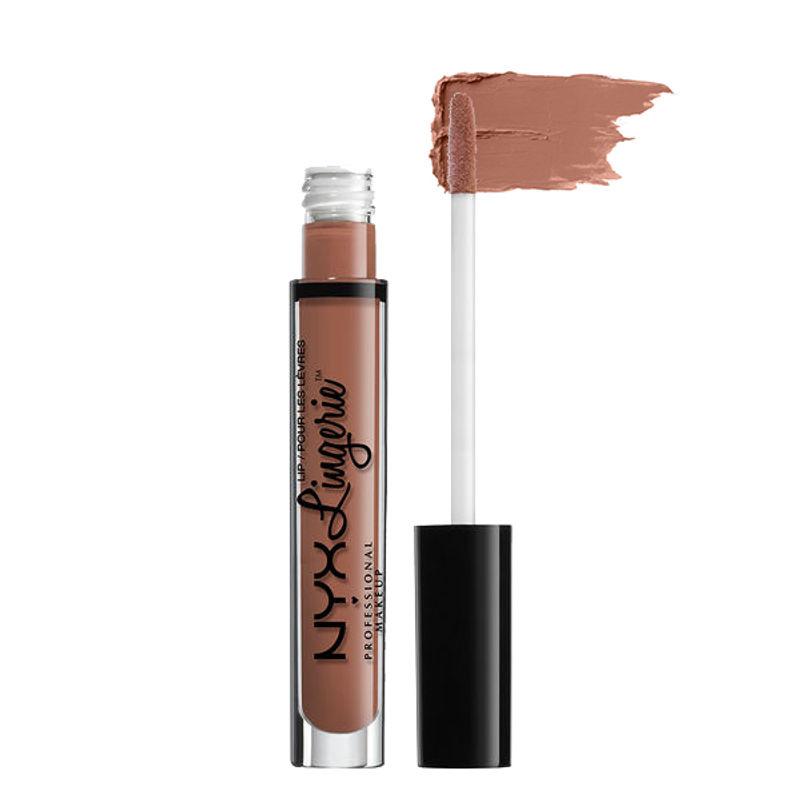 NYX Professional Makeup Lip Lingerie Liquid Lipstick - Bedtime Flirt