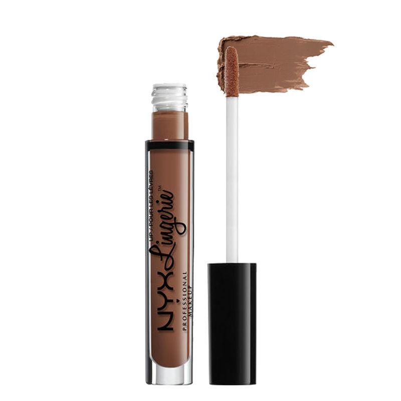 NYX Professional Makeup Lip Lingerie Liquid Lipstick - Teddy