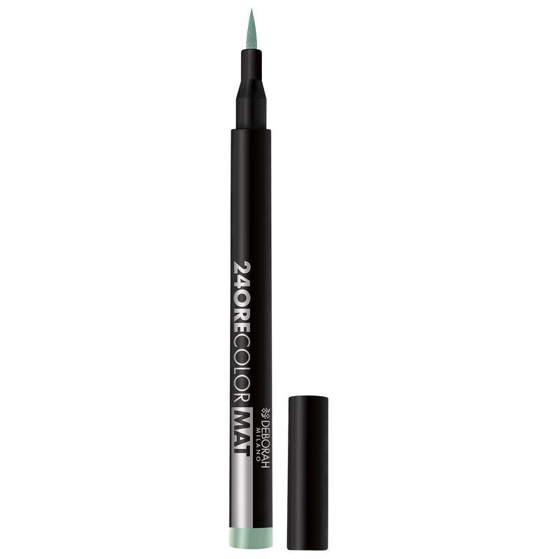 Deborah 24 Ore Color Mat Eyeliner - 10 Icy Teal