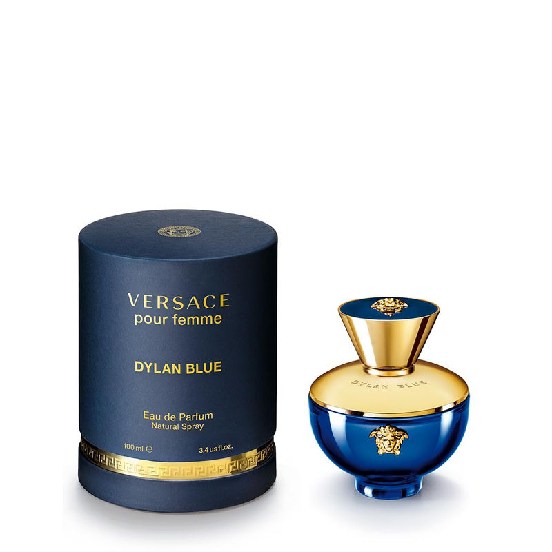 Versace Perfumes (EDT   EDP) - Buy Versace Pour Femme Dylan Blue Eau De  Parfum Online in India   Nykaa 40fc0adbeda