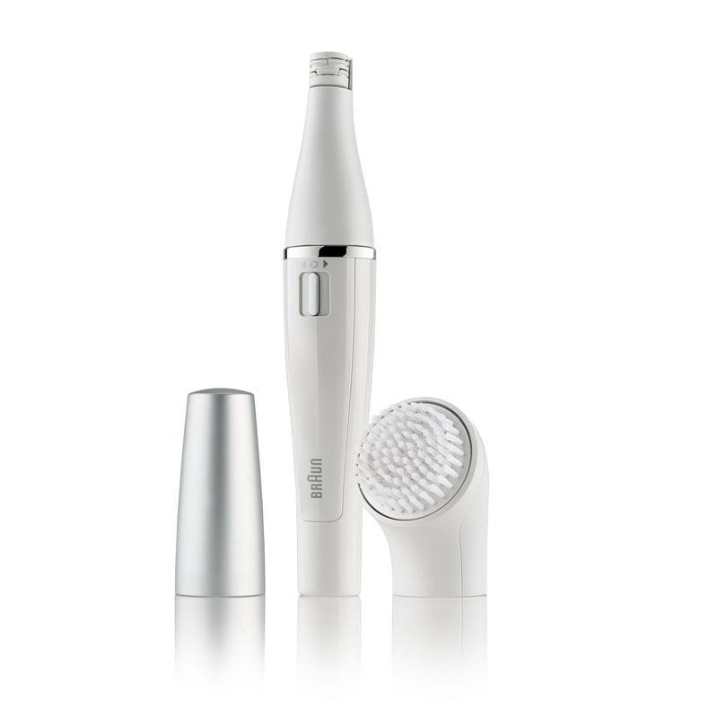 Braun 810 Face Mini Epilator + Cleansing Brush