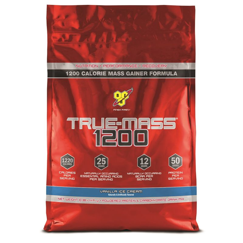 BSN True-Mass Gainer 1200 (Vanilla Ice Cream)