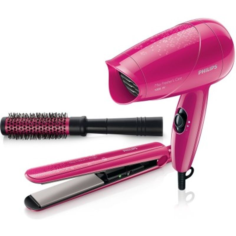 Philips HP8647 Hair Straightener, Hair Dryer, Curler