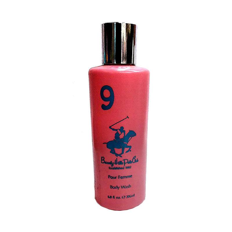 Beverly Hills Polo Club No.9 Body Wash Gel For Women