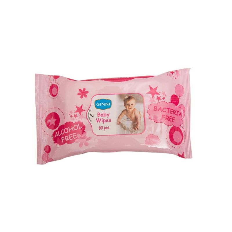 Ginni Baby Wipes - 60 Pieces