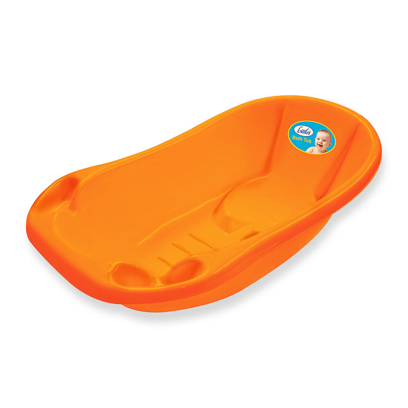 Littles Bath Tub - Orange