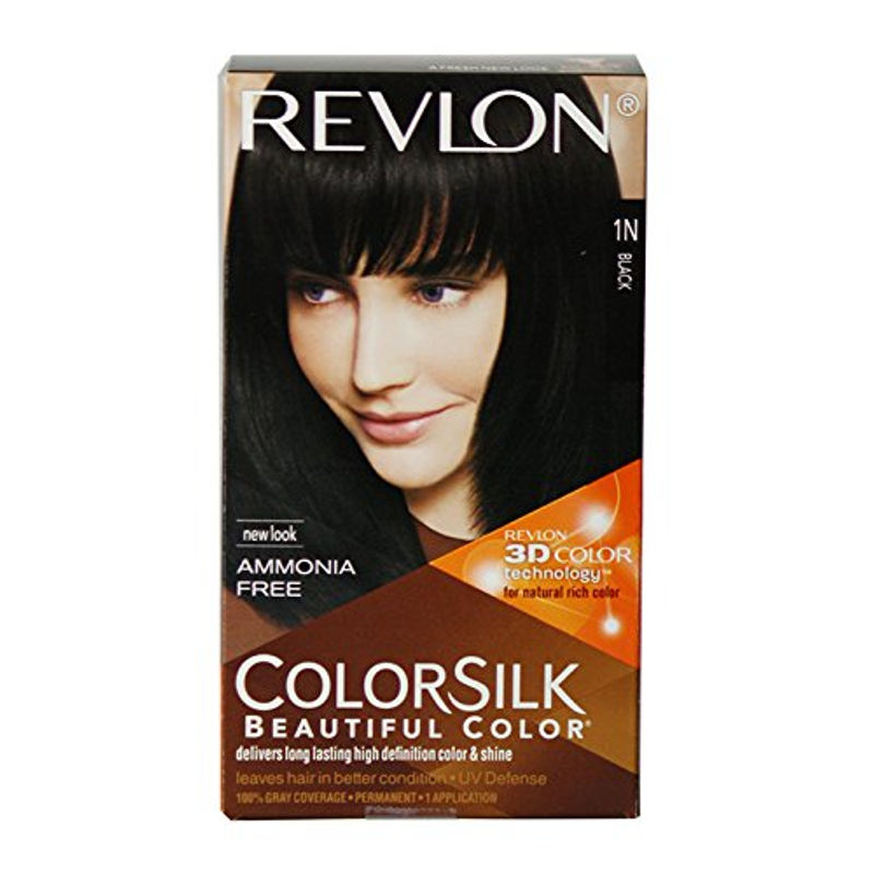 Revlon Colorsilk Hair Color Black 1N