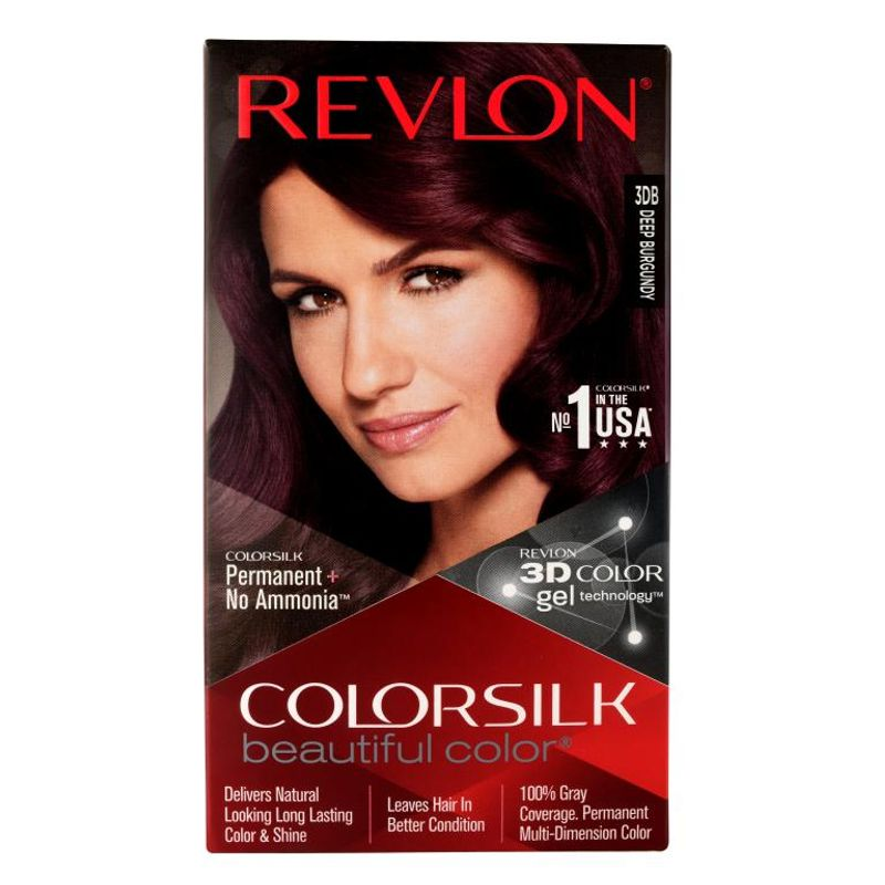 Revlon Colorsilk Hair Color Deep Burgundy 3DB
