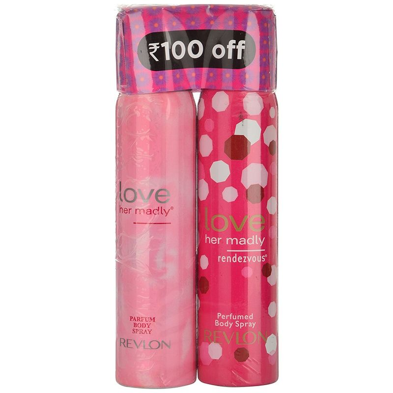 Revlon Love Her Madly Rendezvous Perfumed Body Spray + Perfumed Body Spray (Rs. 100 Off)