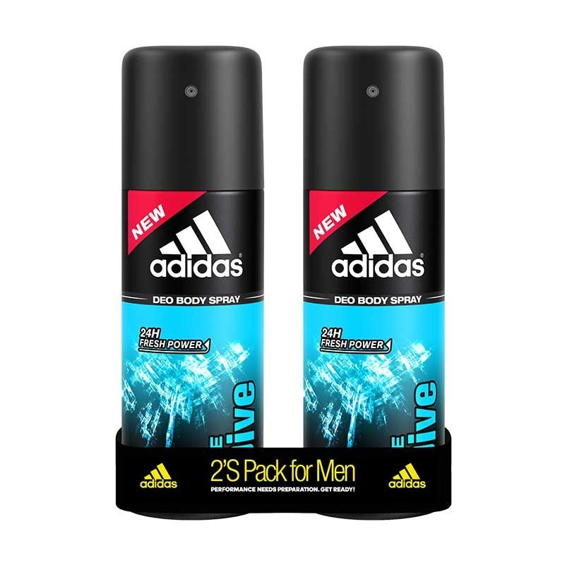 Adidas Ice Dive Deodorant Body Spray For Men Combo (Pack Of 2)