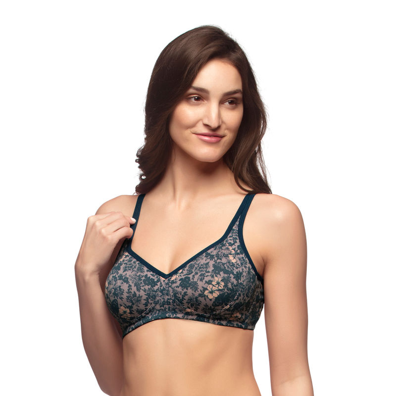 af3f36717c Amante Blue Non-Padded Non-Wired Bra (34D) 1 at Nykaa.com