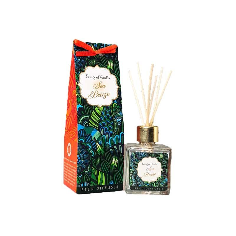 Song Of India Sea Breeze Reed Diffuser Set
