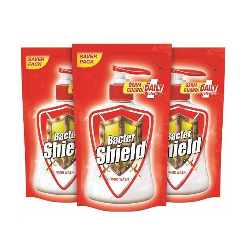 Bacter Shield Hand Wash Refill Pack Of 3