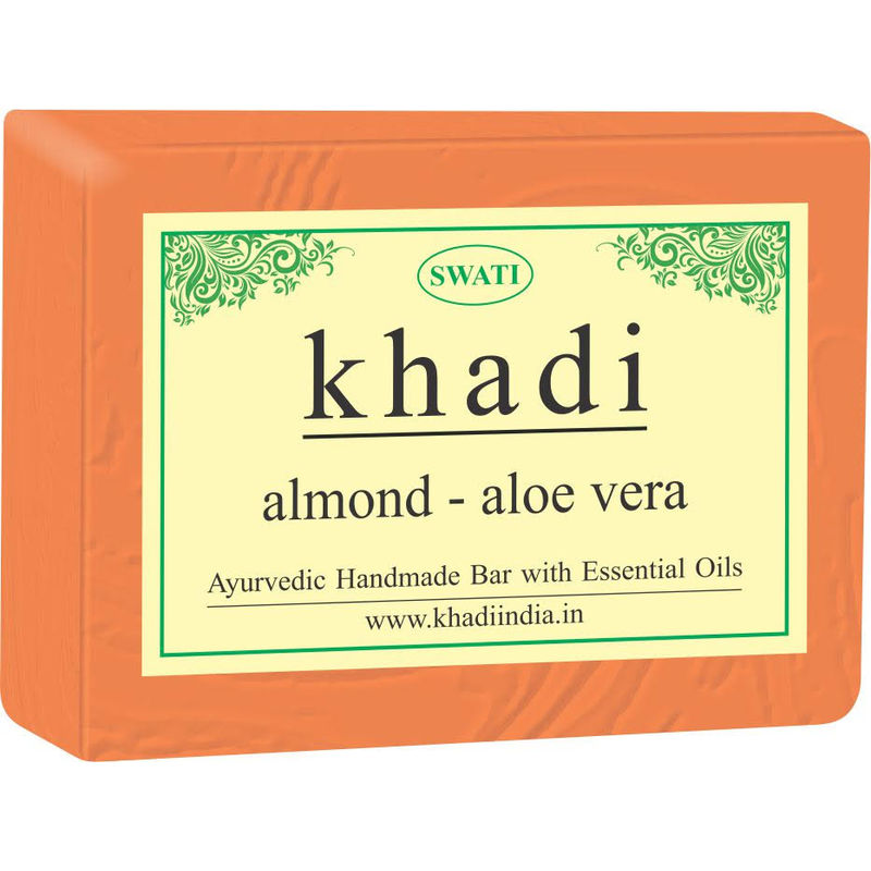 Swati Khadi Almond Aloe Vera Soap