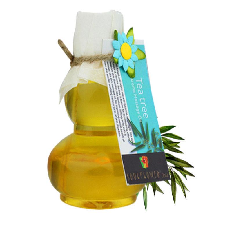 Soulflower Tea Tree Aroma Massage Oil