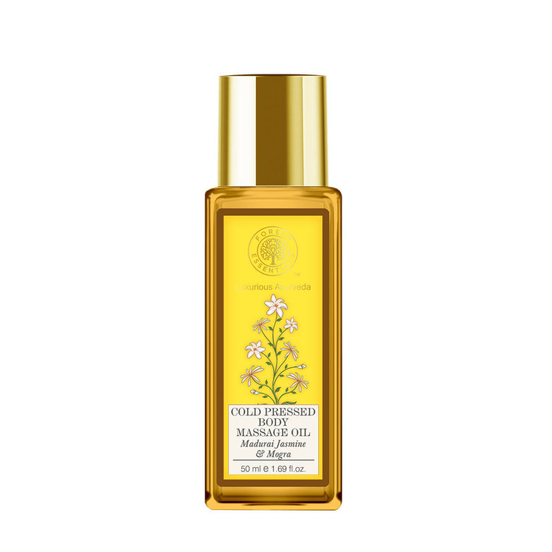 Forest Essentials Cold Pressed Body Massage Oil - Madurai Jasmine & Mogra (Travel Mini)