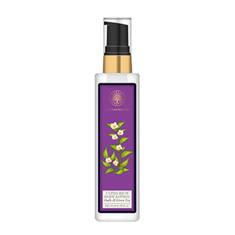 Forest Essentials Ultra Rich Body Lotion Oudh & Green Tea