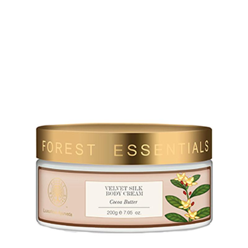 Forest Essentials Velvet Silk Body Cream Cocoa Butter