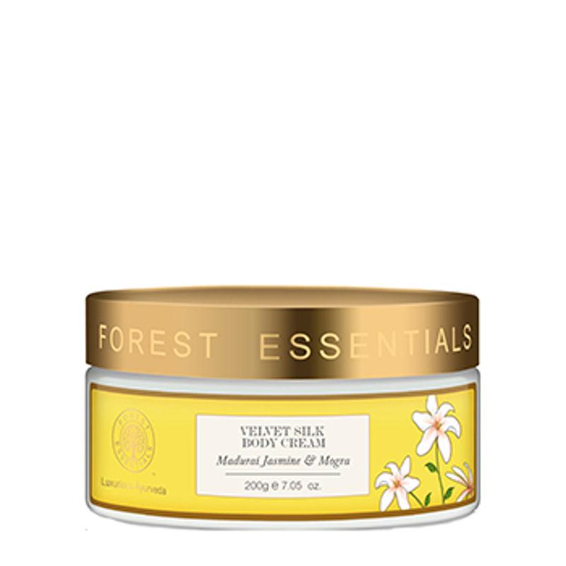 Forest Essentials Velvet Silk Body Cream Madurai Jasmine & Mogra
