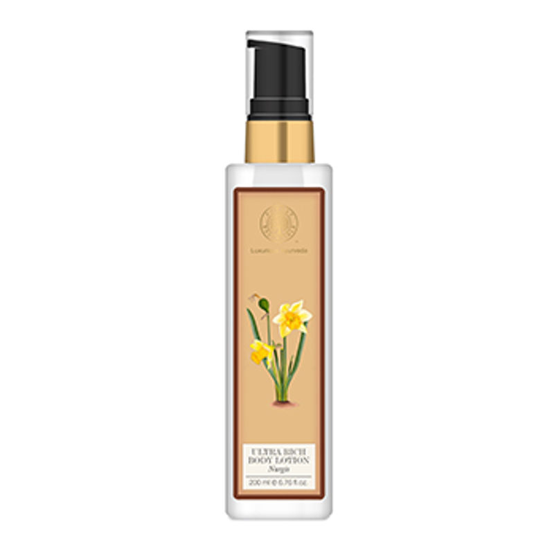 Forest Essentials Ultra Rich Body Lotion Nargis