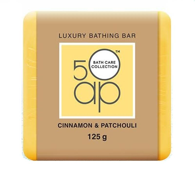 50AP Cinnamon & Patchouli Luxury Bathing Bar