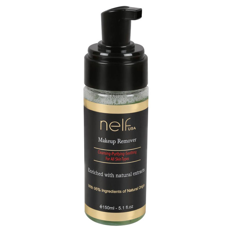 NELF USA Eye And Lip Makeup Remover - Green