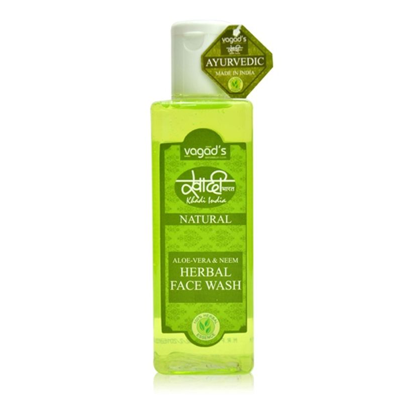 Vagad's Khadi Aloe Vera & Neem Herbal Face Wash
