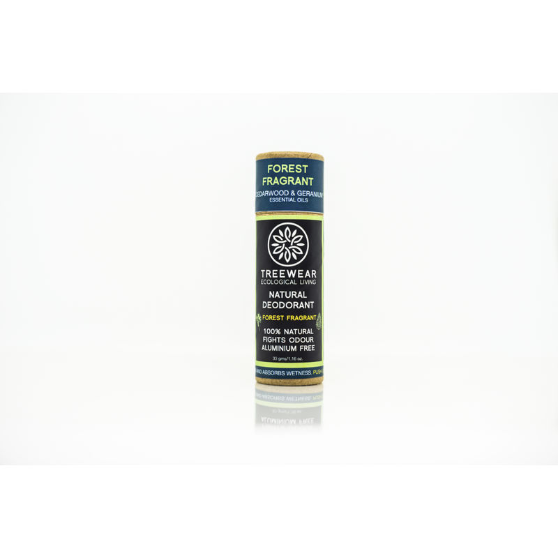 TreeWear Natural Deodorant Stick - Forest Fragrant
