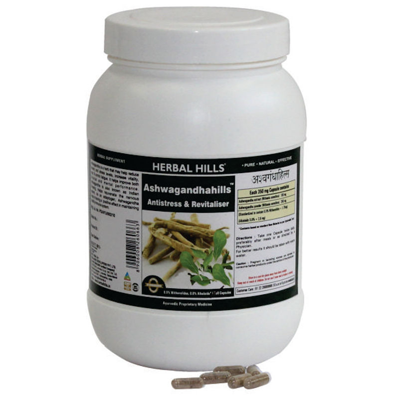 Herbal Hills Ashwagandhahills Capsule Value Pack
