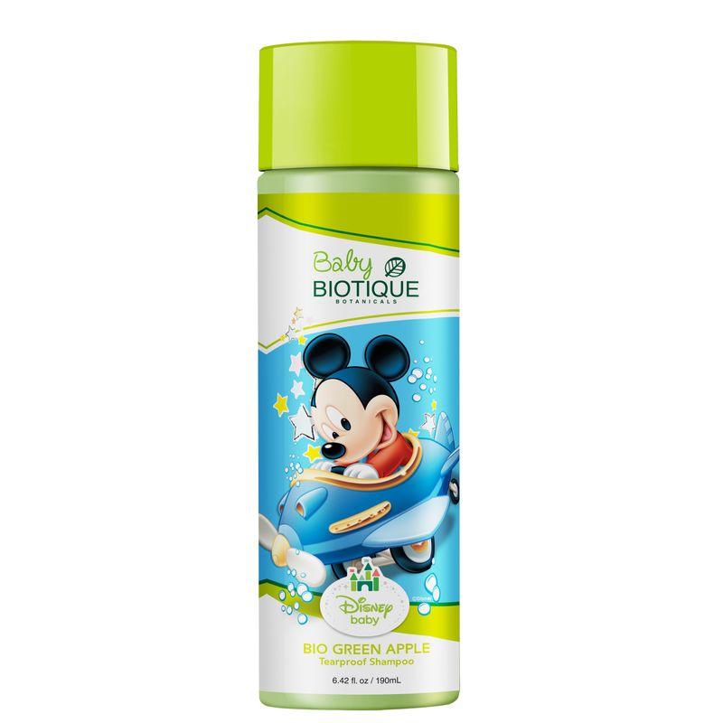 Biotique Disney Baby Boy Bio Green Apple Tearproof Shampoo