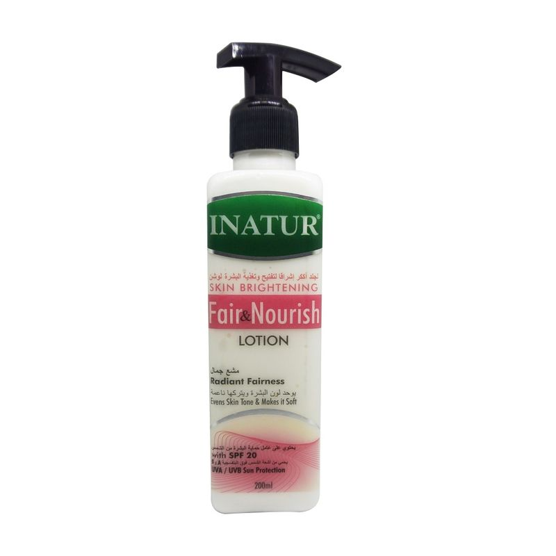 Inatur Skin Brightening Fair & Nourish Lotion